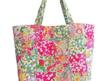 Liberty Patchwork Katherine Bag Fabric