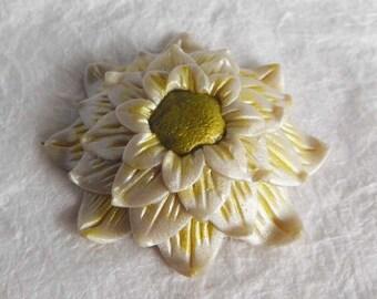 Fantasy Zinnia Flower focal bead