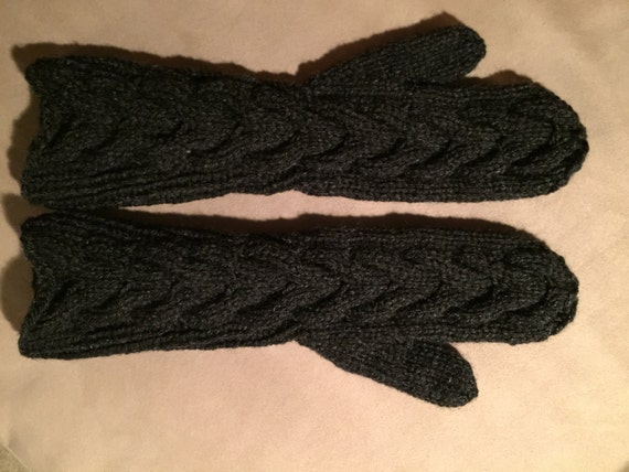 IN STOCK- Twilight Bella's Mittens - Charcoal