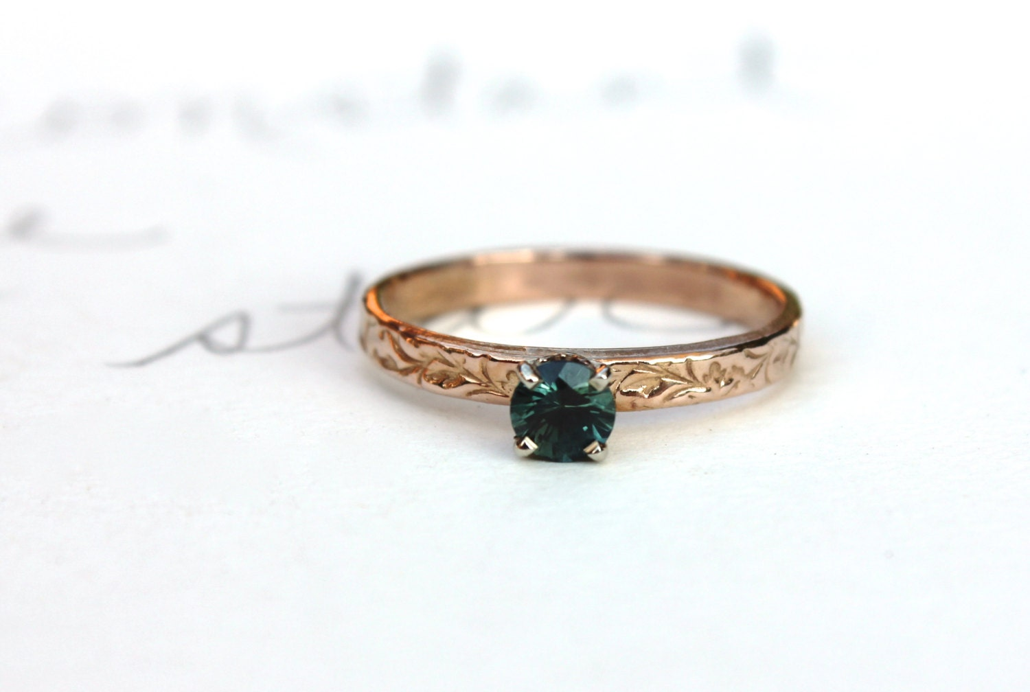 sale green sapphire engagement ring simple sapphire