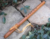 Key of Fm Native American Style Flute - Curly Maple Hardwood - Pentatonic Modes 1 & 4 Tuning