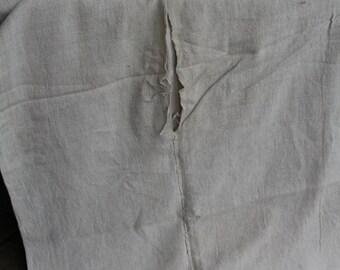 nr. 114 antique duvet coverlet BEDSPREAD handloomed plain COMFORTER LAUNDERED classy and soft