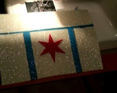 Chicago Flag Clutch
