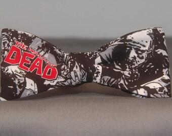 Walking Dead Zombie  Bow Tie