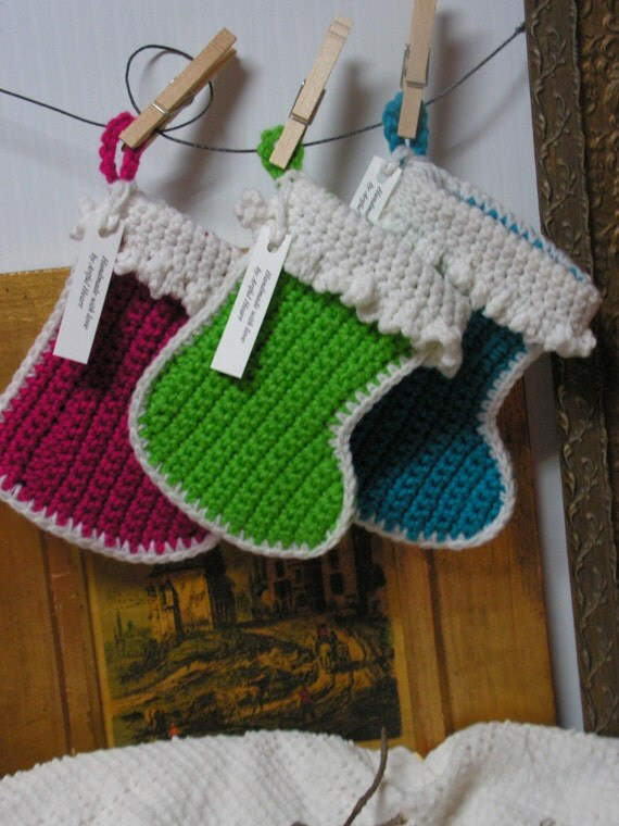 3 Handmade Stockings By Artfulheart On Etsy