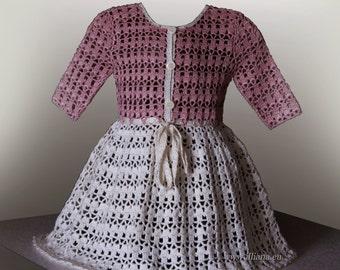 Crochet Suit Pattern No 96