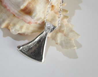 Sterling Pendant: Unisex Jewelry on a Chain