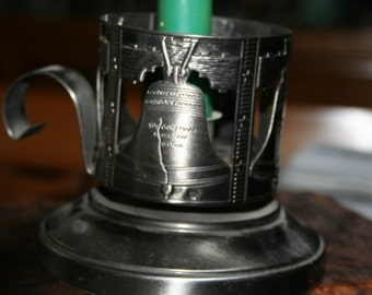 Liberty Bell Candle Holder