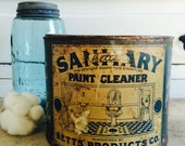 Antique Advertising Paint Can Cleaner for Homes and Hotels