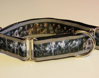 Game of Thrones Inspired Martingale Dog Collar (Lg)