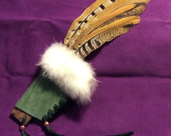 Chosen Smudging Feather - 11 inches
