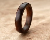 Custom Guayacan Wood Ring - 5mm