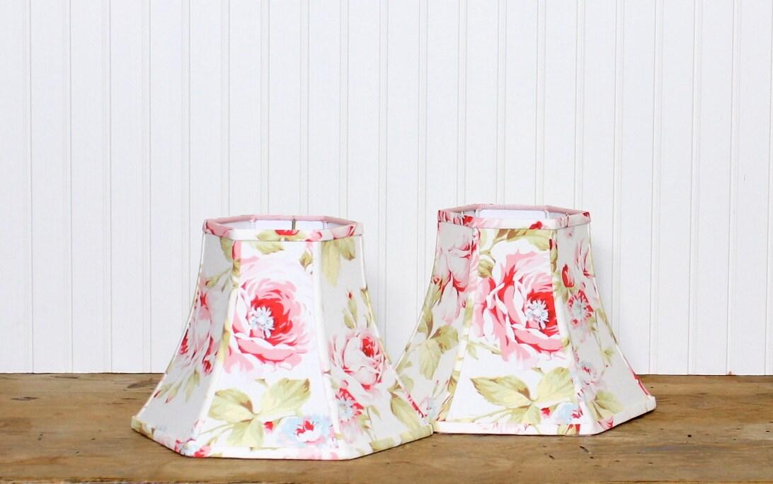 Floral Lamp Shade Lamp Shade Lampshade Shabby Chic