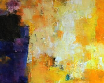 October 2014 - 3 - Original Abstract Oil Painting -  60.6 cm x 91.0 cm (app. 24 inch x 36 inch)