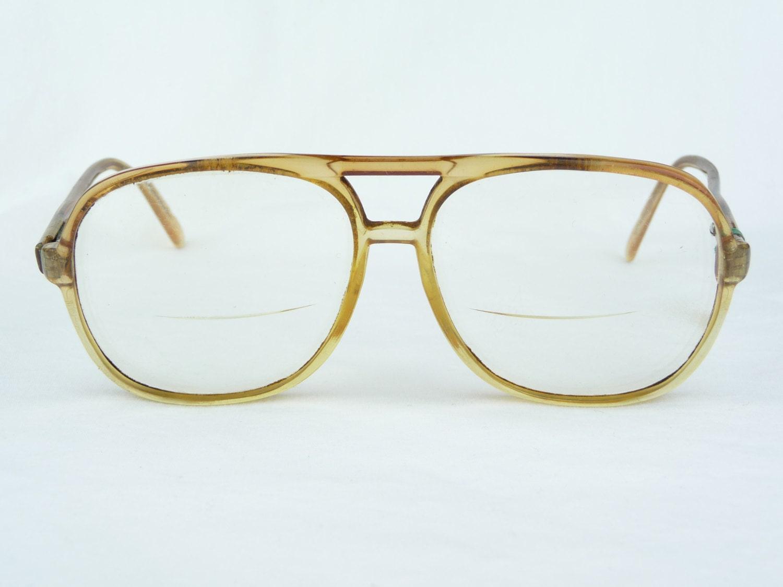 vintage eyeglasses safilo elasta plastic framesbrown