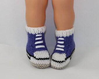 Instant Digital File pdf download Knitting pattern- Baby Chunky Basketball Booties pdf download knitting pattern