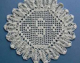 "Custom Crocheted Initial Doilies ""S"""