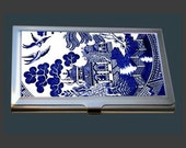 Business Card Case - Blue Willow Pattern