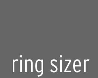 ring sizer. free worldwide shipping.