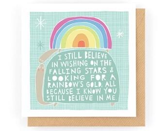 Believe - Greeting Card (1-11C)
