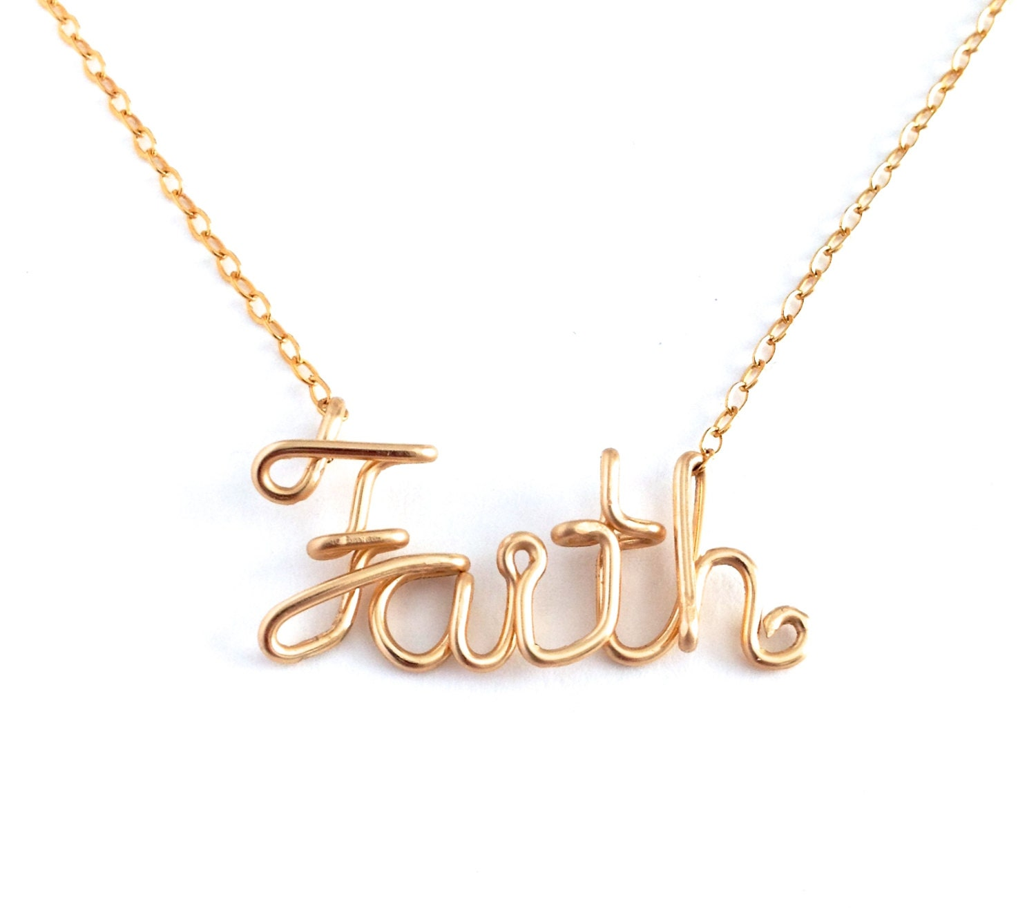 faith necklace gold faith necklace sale by azizajewelry