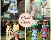 Lilac Lane Casual Combo PDF Sewing Pattern Pack