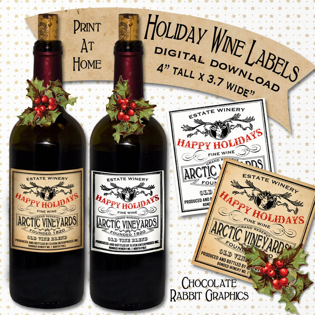 It's just a picture of Mesmerizing Free Printable Wine Labels With Photo