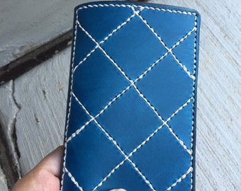 Handmade Leather Field Notes Cover with Shelterwood included