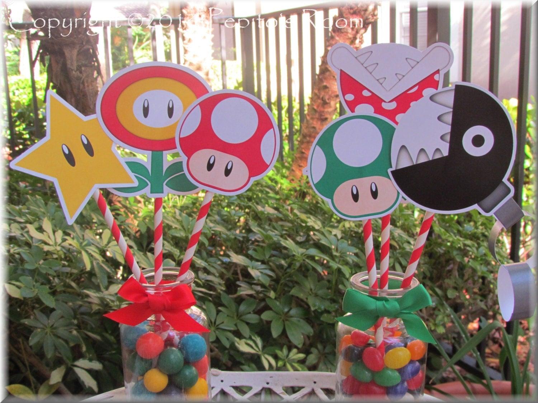 Super Mario Bros Bedroom Decor Video Game Decor Etsy