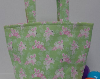 Dancing Bunnies Easter Tote Bag