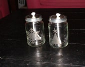 Upcycled Babyfood Jar Oil Candles [Set of two]