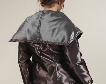 Futuristic Metallic Jacket..