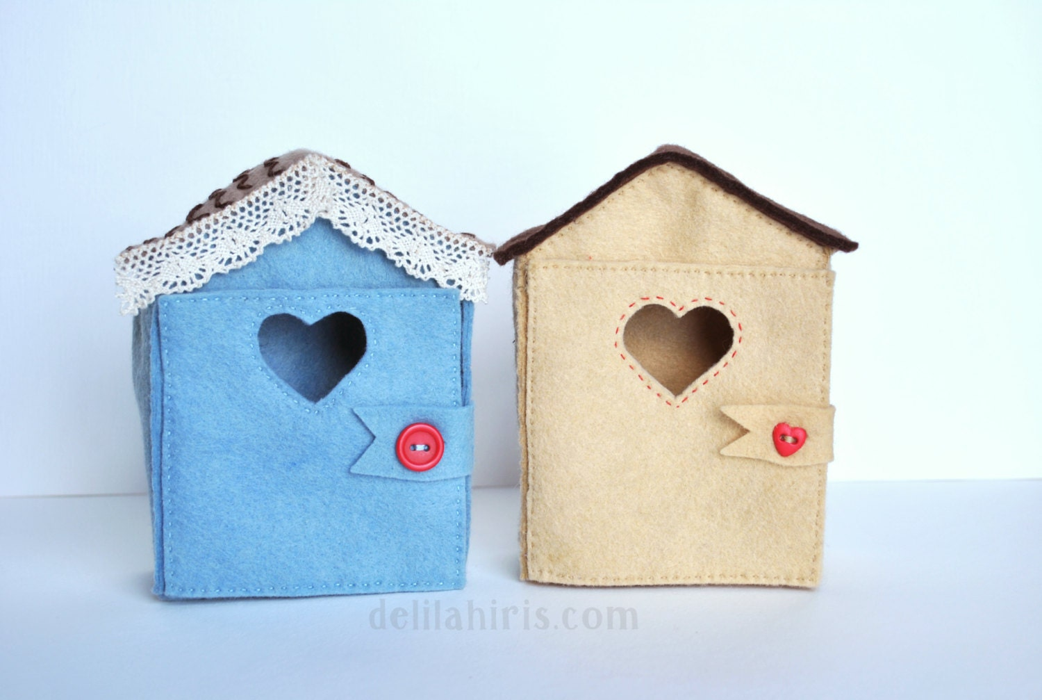 Little felt doll house pattern tiny house for 4 inch mini for House of patterns