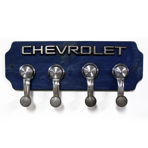 Chevrolet Coat Rack Chevy Hat Rack With 4 Chrome By