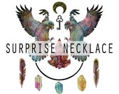 Surprise Crystal Necklace! - Kiss The Future, Random Lucky Dip Jewellery.