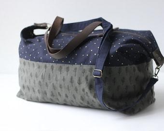 Weekender Bag- Trees & Stars