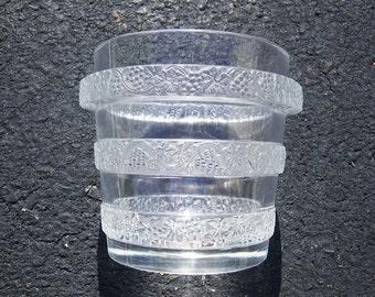 Lalique Vase - Ricquewihr Laves Raisins - grapes - ice bucket- gorgeous