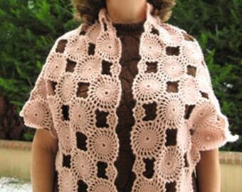 İnstant Download, PDF Tutorial  Shawl Pattern... DIY Crochet Shawl, Women's Shawl, Wrap, Scarf For All Seasons
