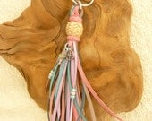 Items Similar To Kangaroo Leather Key Fob Key Chain Purse