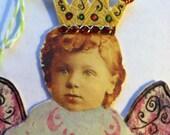 Love Angel Fairy Repurposed Gift Tag