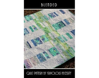 Quilt Pattern PDF Blended -- Charm Friendly