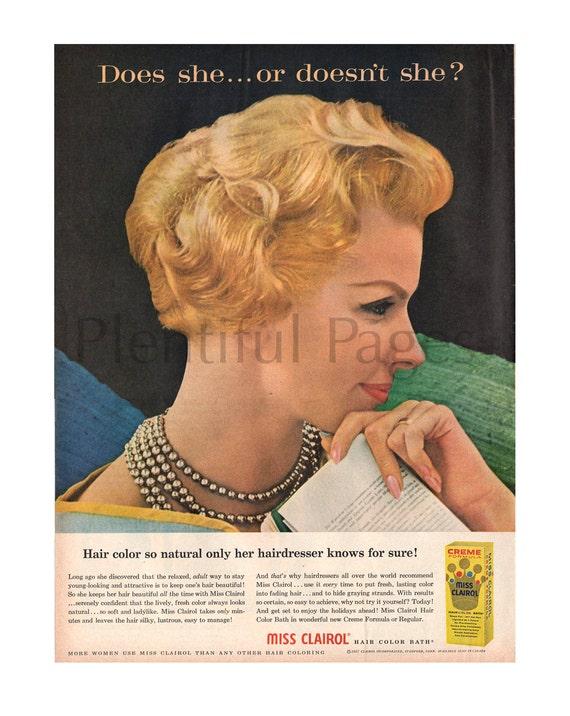 Vintage Hair Color 91