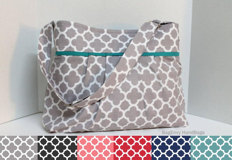 monterey diaper bag medium design your own by bagenvy on etsy. Black Bedroom Furniture Sets. Home Design Ideas