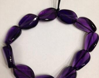 Amethyst bracelet layering February Birthstone