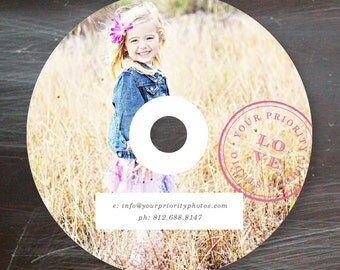 Photography Templates - DVD Template for Photographers - Photo Marketing Templates - Photography Branding Design- Photography Templates