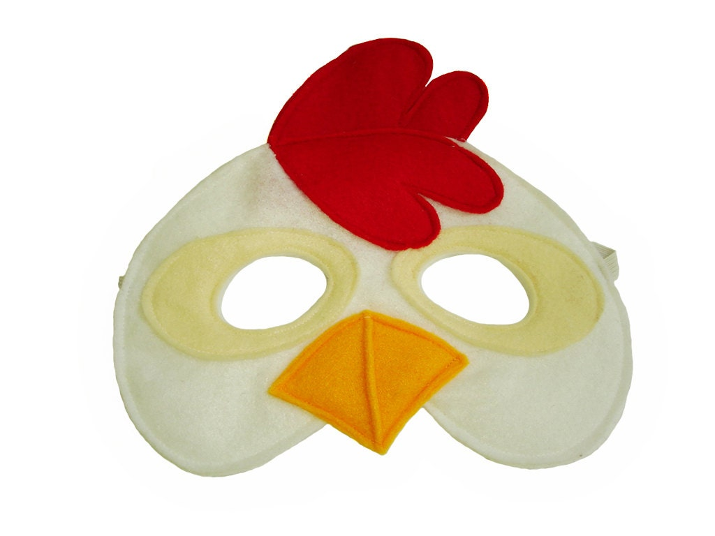 Chicken face mask - photo#20