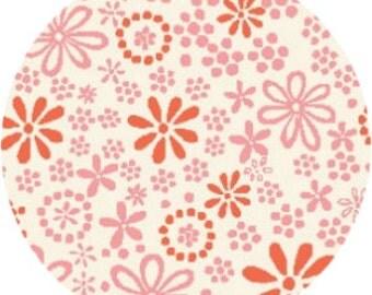 "SALE Monaluna Embroidery 100% organic cotton remnant fabric piece - 15""x92"""
