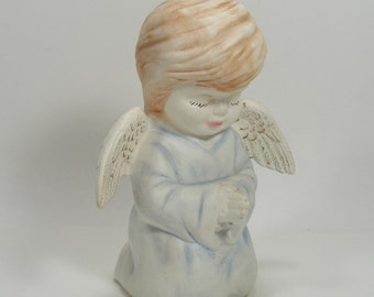 Blue Boy Angel Nighttime Prayers