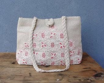 Dantelle Bag - Revamped, Embellished, Embroidered Vintage Purse