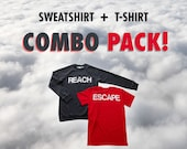 Sweatshirt and T-Shirt Combo Pack